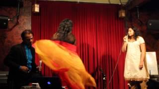 ADRIANA (CARAVANA PRODUCTIONS) dancing to CHURA LIYE TUMNE