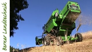 Getreideernte +45% am Limit | Extreme Combine Harvester