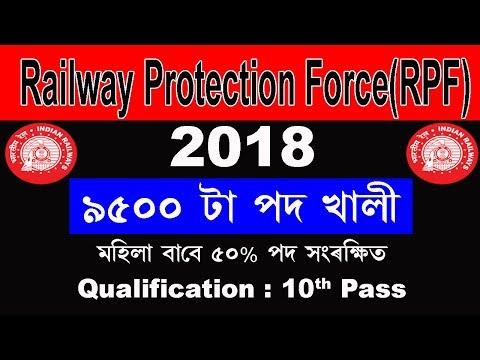 RPF recruitment 2018   Apply Online   Notification   Age limit   Qualification   Vacancy