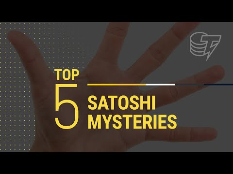 Top 5 Best Guesses on the identity of Satoshi Nakamoto