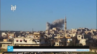 تجدد غارات النظام السوري على درعا