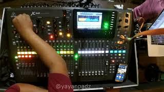 30 Menit nge Mixing Live Dangdut Ikke Nurjanah :D pake X32