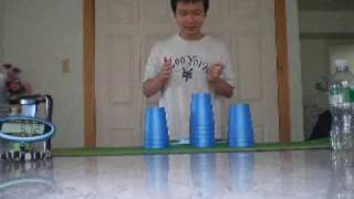 SPEED STACKING WORLD RECORD 2010