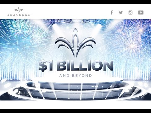 Fastest Growing Company, Jeunesse - US$1 Billion Sales in Year 6th