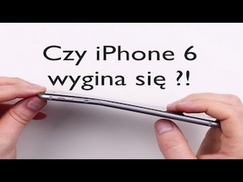 Czy iPhone 6 wygina się ?! - Apple I AppleNaYouTube