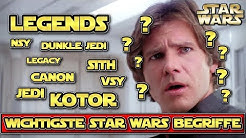 Star Wars: Die wichtigsten Star Wars Begriffe und Abkürzungen erklärt (Legends, Kanon, VSY, NSY etc)