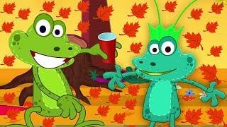 осенняя песня | детские стишки для детей | Autumn Song | мультфильм песня в россии