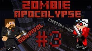Minecraft Zombie Apocalypse #3 - Станция метро