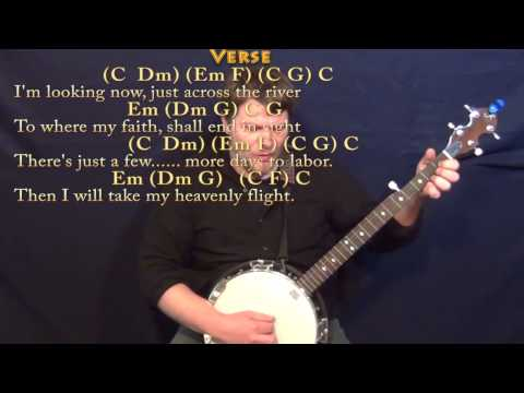 Banjo banjo chords in c : Beulah Land - Banjo Cover Lesson in C with Chords/Lyrics - YouTube