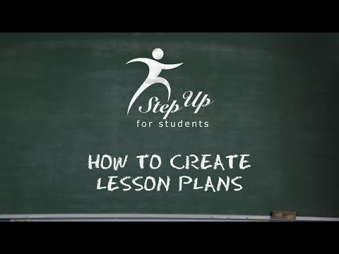 How To Create Lesson Plans