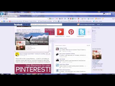 """Facebook Business Page """"Map"""" Check-In"""