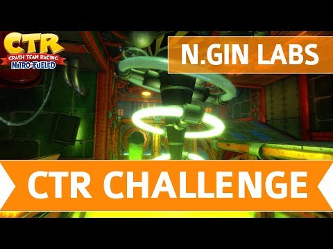 Crash Team Racing Nitro-Fueled CTR Challenges Letter Locations