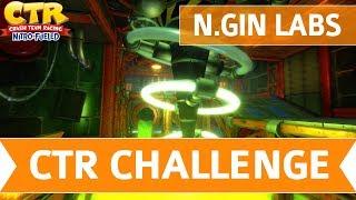 Crash Team Racing Nitro Fueled - N.Gin Labs CTR Challenge Token Locations