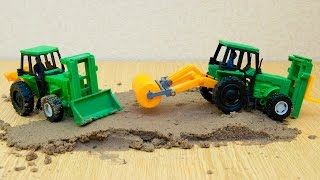 Машинки мультфильм - Мир машинок - 103 серия:  Трактор, бульдозер.Развивающий мультик для детей.(Развивающие мультики для самых маленьких с участием машинок обязательно заинтересует малышей. В новой..., 2016-06-29T20:49:38.000Z)
