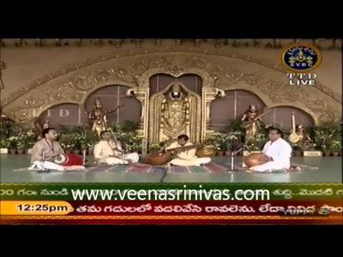 Venkatachala nilayam - Sindhubhairavi - Adi talam -Purandara dasa -Veena D Srinivas