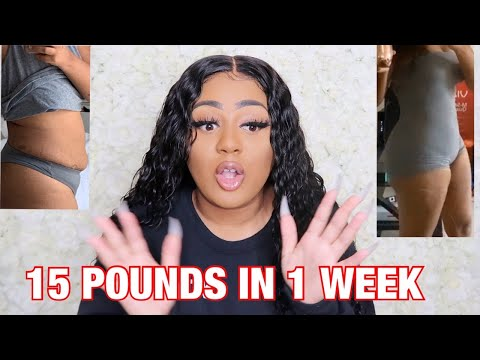 15 POUNDS IN 1 WEEK | FAST WEIGHT LOSS | HOW TO LOSE INCHES