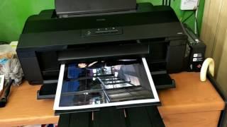 Epson L1800. Test print. A3+ Photo