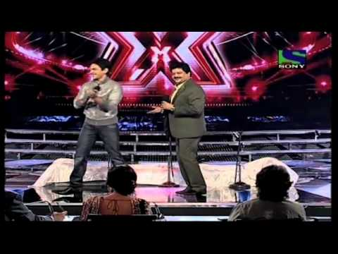 X Factor India - Udit Narayan & Aditya Narayan perform on Partner- X Factor India - Episode 26 - 12th Aug 2011