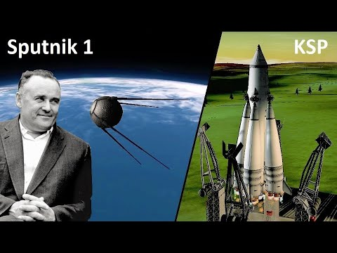 Space Race KSP - Sputnik 1 - Pure Stock Replicas