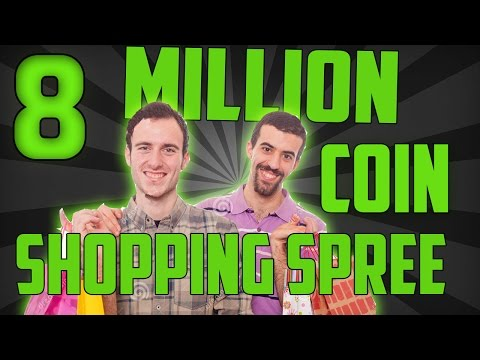 8 MILLION COIN SHOPPING SPREE!!! Ft. THE WOP - MADDEN ULTIMATE TEAM 16