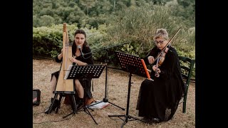 All of me - VoceDAnimA - Duo Lakmé - harp and violin version - Elisa Malatesti, Natalia Kuleshova