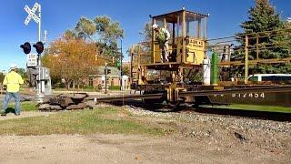 TRRS 478: CSX Rail Unloading Train at Work
