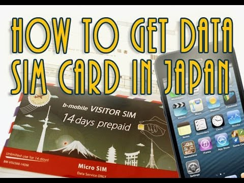 How To Get Data For Mobile In Japan