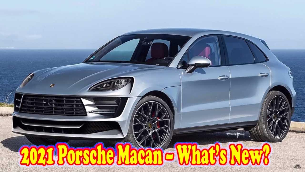 2021 Porsche Macan Configurations