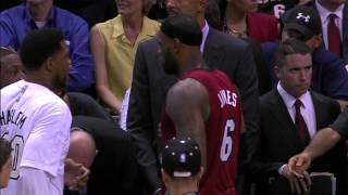 Repeat youtube video LeBron James Mic-d Up During Finals Game 1