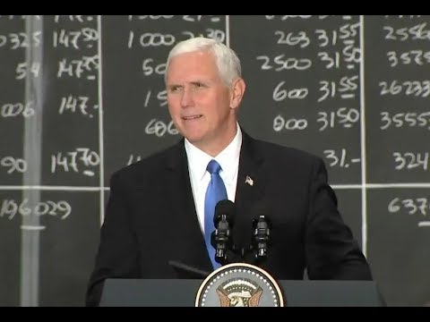 VP Pence In Santiago, Chile-Full Speech (audio only)