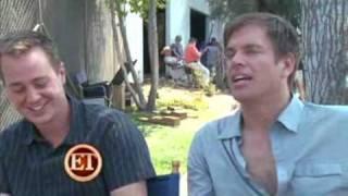 Интервью Майкла Уэзерли и Шона Мюррея для ET.