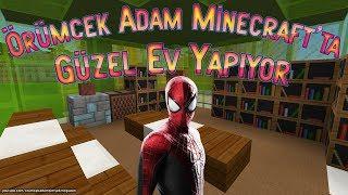 Örümcek Adam Minecraft'ta Ev Yapıyor Acaba Sınavı Geçebilecek mi?