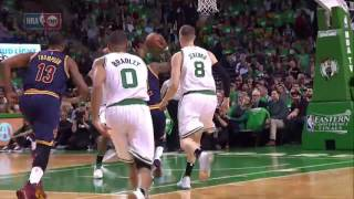 Kyrie Irving Smooth Layup! | Cavs vs Celtics | May 25, 2017 NBA Playoff 2017