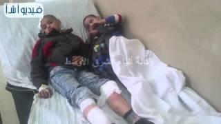 بالفيديو: مصرع شاب واصابة 16  اخرين في حادث تصادم ثلاث أتوبيسات في عيون موسى