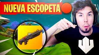 "JUGANDO con NUEVA ""ESCOPETA PESADA"" Fortnite: Battle Royale"