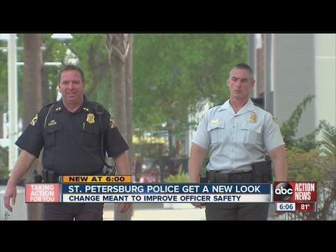 New look for St. Pete police officers