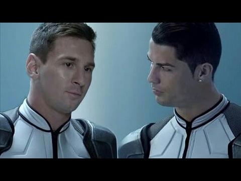 Publicité Nike - RONALDO & MESSI dans la même équipe - VIDÉO COMPLÈTE - HD [1080p]