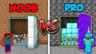 Minecraft NOOB vs. PRO: SECRET VAULT in Minecraft!