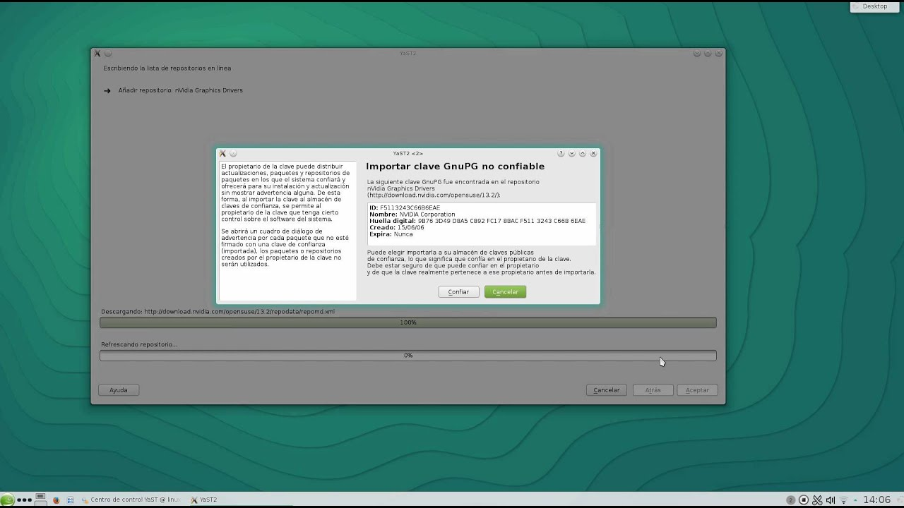 opensuse leap install nvidia drivers