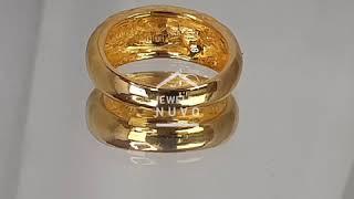 Jewelry NUVO 24K Ovel Volume Ring 01