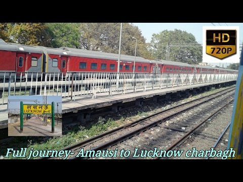 Full journey Complition from Amausi to Lucknow onboard Jhansi lucknow passenger Led by JHS WDP4D