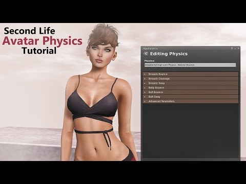 Second Life Avatar Physics Tutorial - 2016