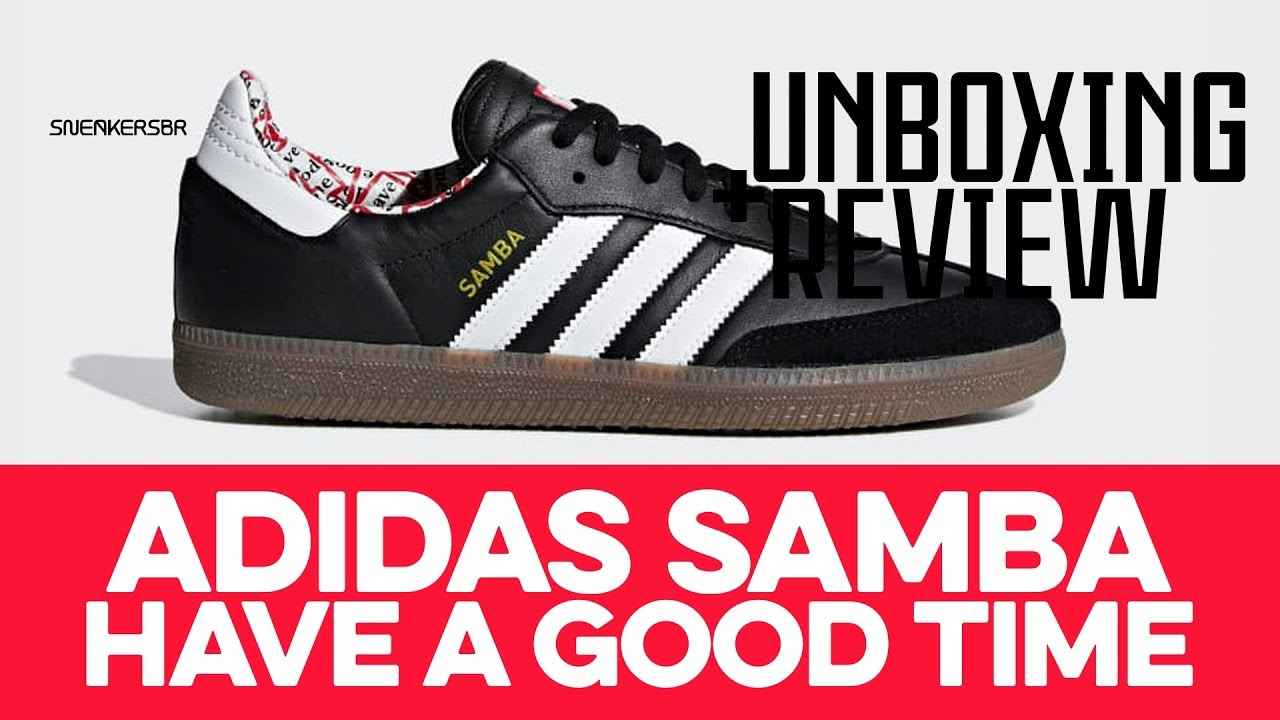 UNBOXING+REVIEW - adidas Samba X Have a
