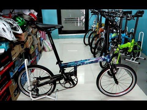 Otd Spin 5 0 Folding Bike V Brake Youtube