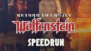 Return To Castle Wolfenstein - Speedrun (Drunkrun) by Herr Szimek