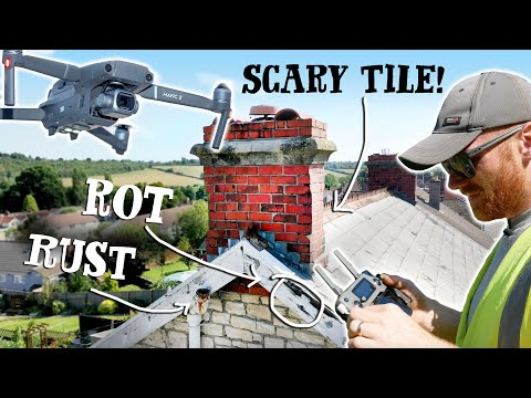 WORSE THAN WE THOUGHT! 😧 - DRONE ROOF SURVEY