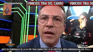 🤬 SORIA 'ESTALLA' por VINICIUS en El Chiringuito