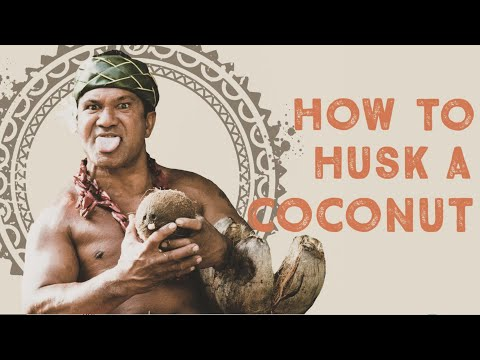 How to Husk a Coconut