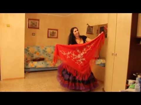 видео: Постановка цыганского танца с платком Венеры Ферарь (из серии домашних уроков)