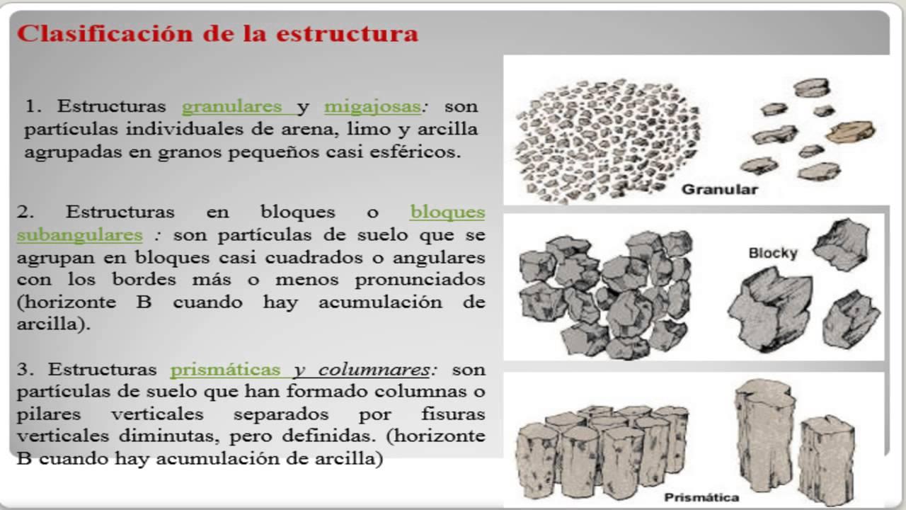 Estructura de los suelos edafologia youtube for Suelos y tipos de suelos